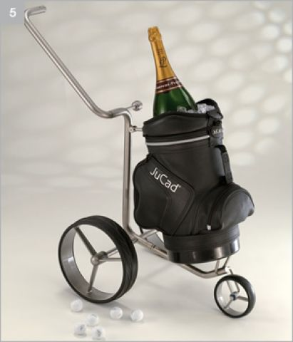JuCad Champagner Caddy