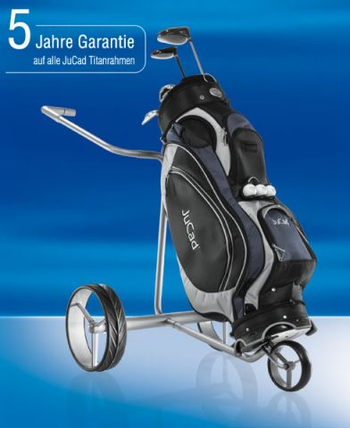 JuCad Drive SL Classic Titan Trolley -Der klappbare Klassiker-