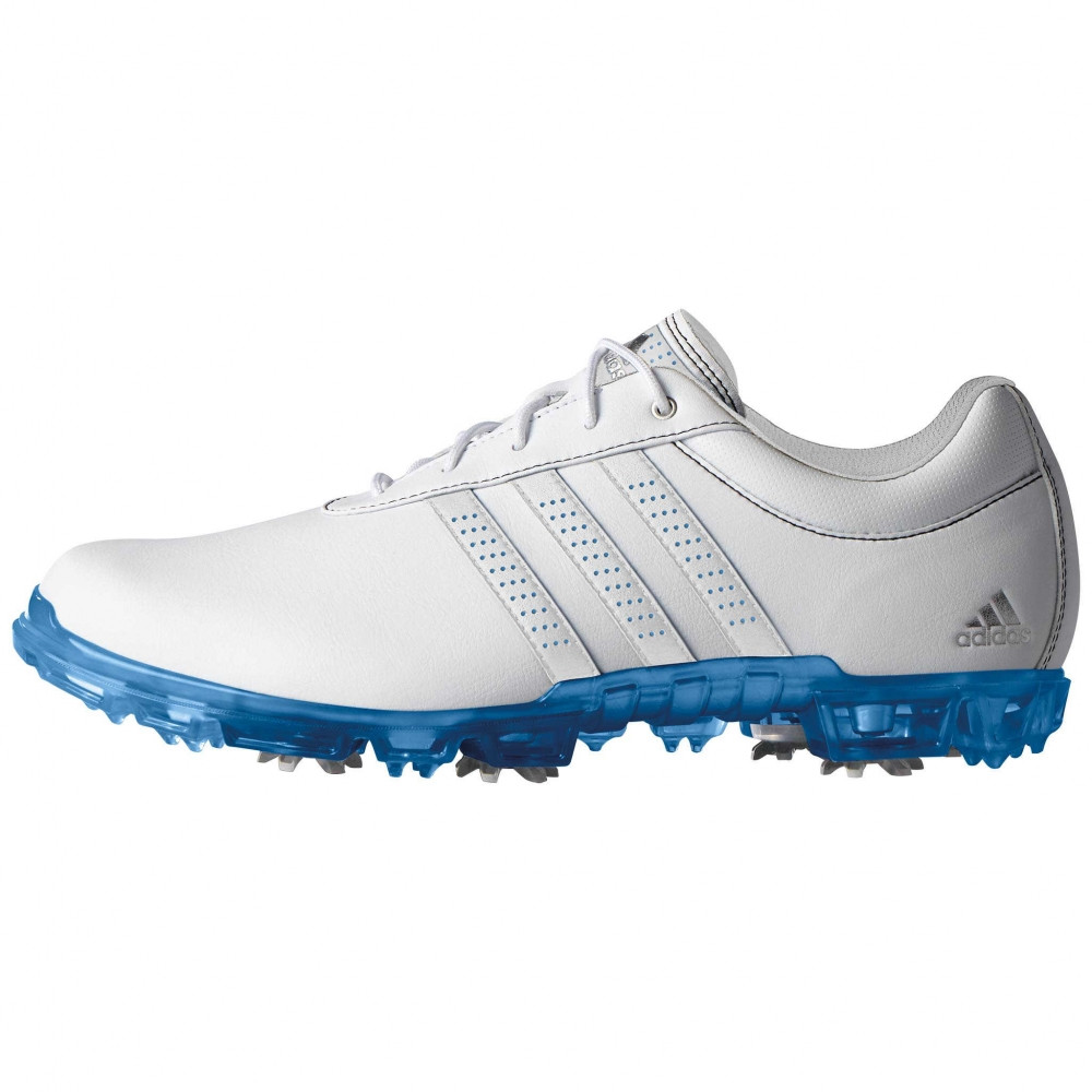 online store 126ed bcc13 adidas-adipure-flex-wd-golf-shoes-white-blue  adipureflexwdq44836grande. HomeGolfbekleidungGolfschuheHerrenAdidas  ...