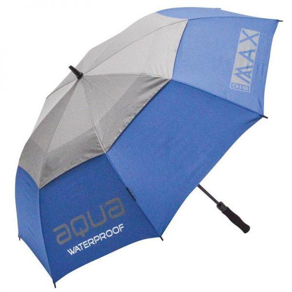 BIG-MAX-Aqua-Golfregenschirm-blau