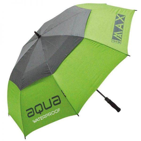 BIG-MAX-Aqua-Golfregenschirm-lime