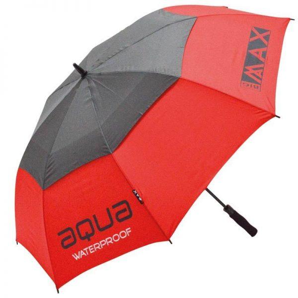 BIG-MAX-Aqua-Golfregenschirm-rot